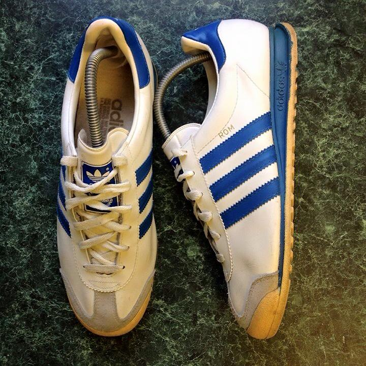 70`S 80`S VINTAGE ADIDAS ROM SHOES  made in france pa